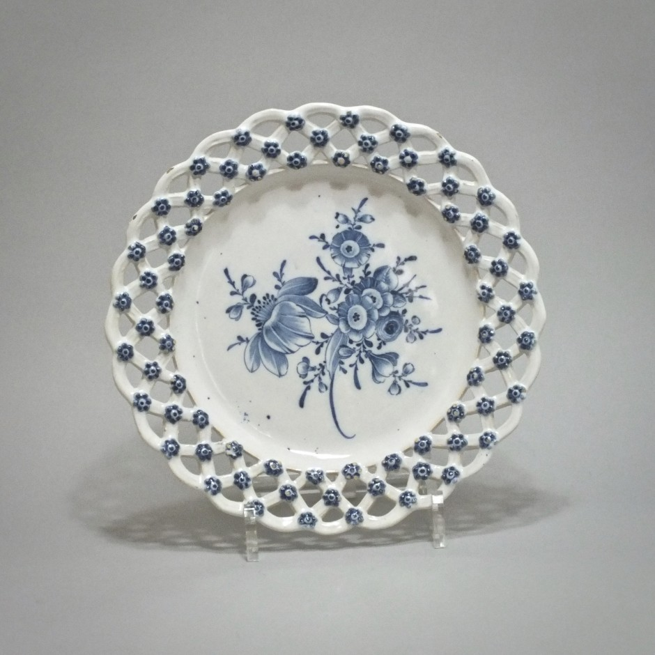 Marieberg (Sweden) - Plate lace border - Eighteenth Century