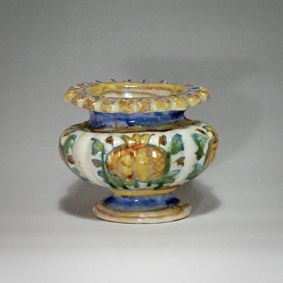Les Marches (Pesaro ou duché d'Urbino) - Salière ovale - XVIIe siècle