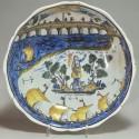 """saladier dit """"au pont de Nevers"""" - Daté 1813 - VENDU"""