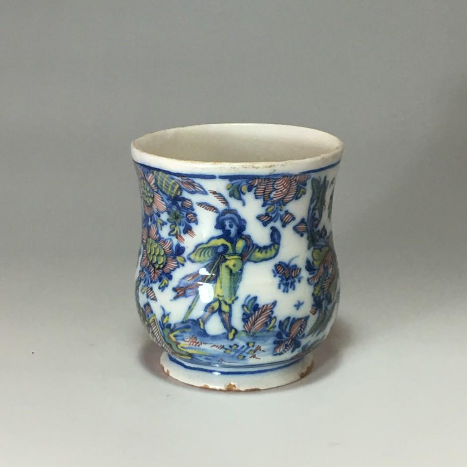 Marseille (Leroy) - petit vase - XVIIIe siècle