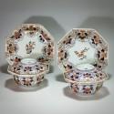 Paire de bols couverts en porcelaine du Japon - Arita  - début du XVIIIe siècle