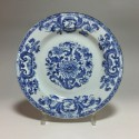 "China (Company of the Indies) - decor plate ""pompadour"" - eighteenth century"