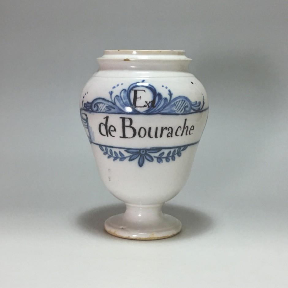 Attribué à Lyon – Pot de pharmacie - XVIIIe siècle