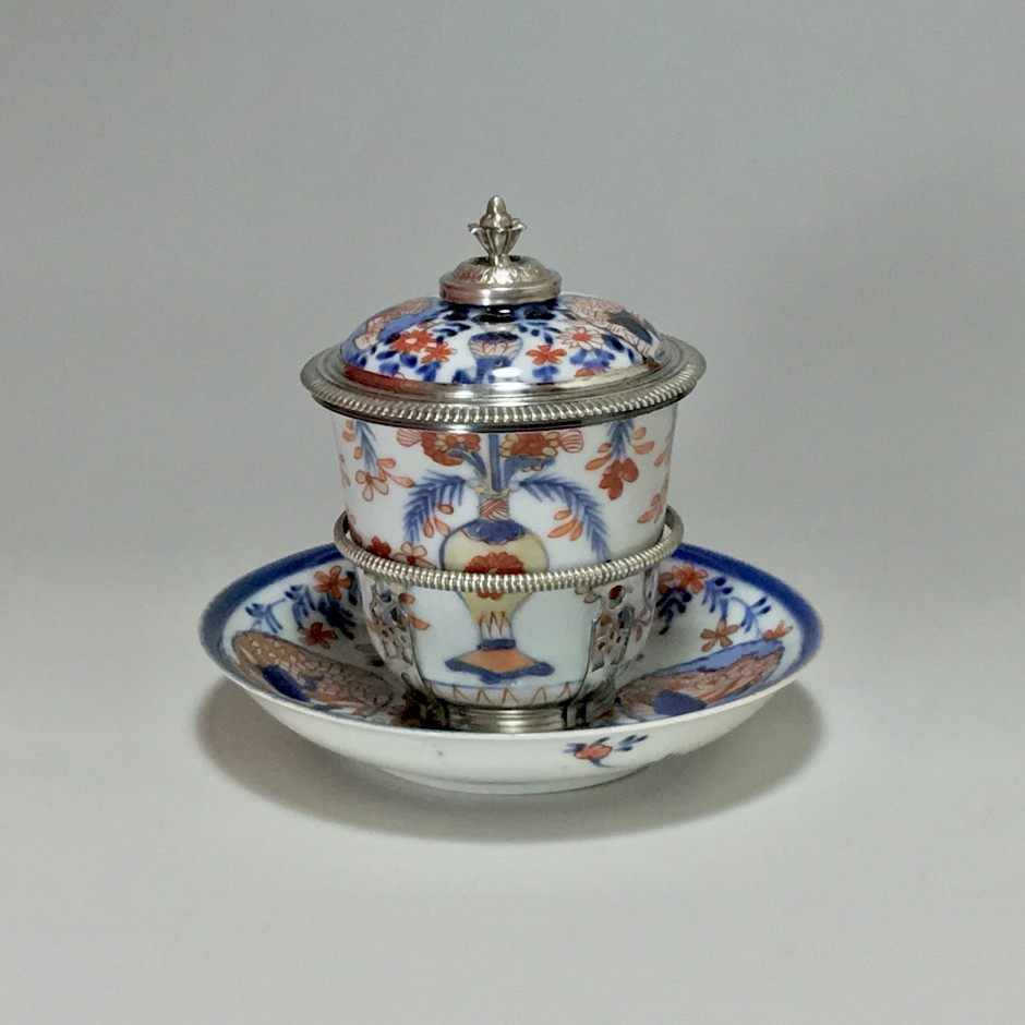 Chine - Gobelet couvert - Monture de la fin de l'époque Régence - Paris 1722-1726