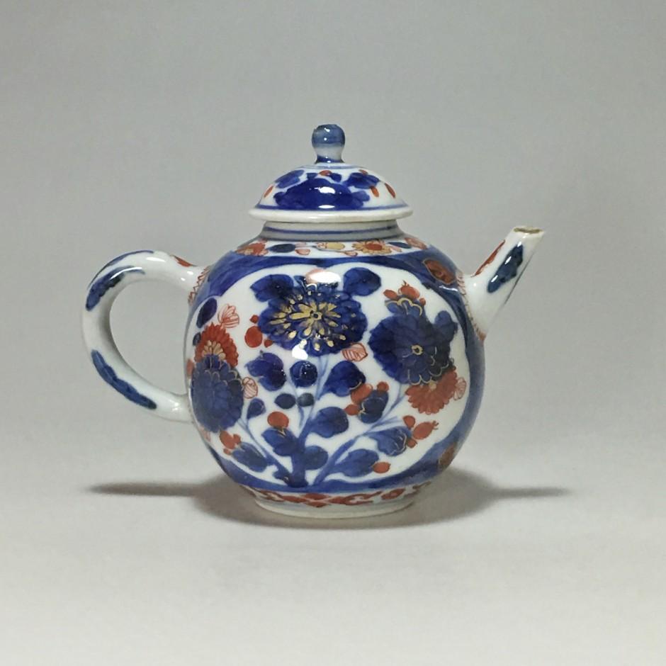 Chine - Petite théière imari - XVIIIe siècle