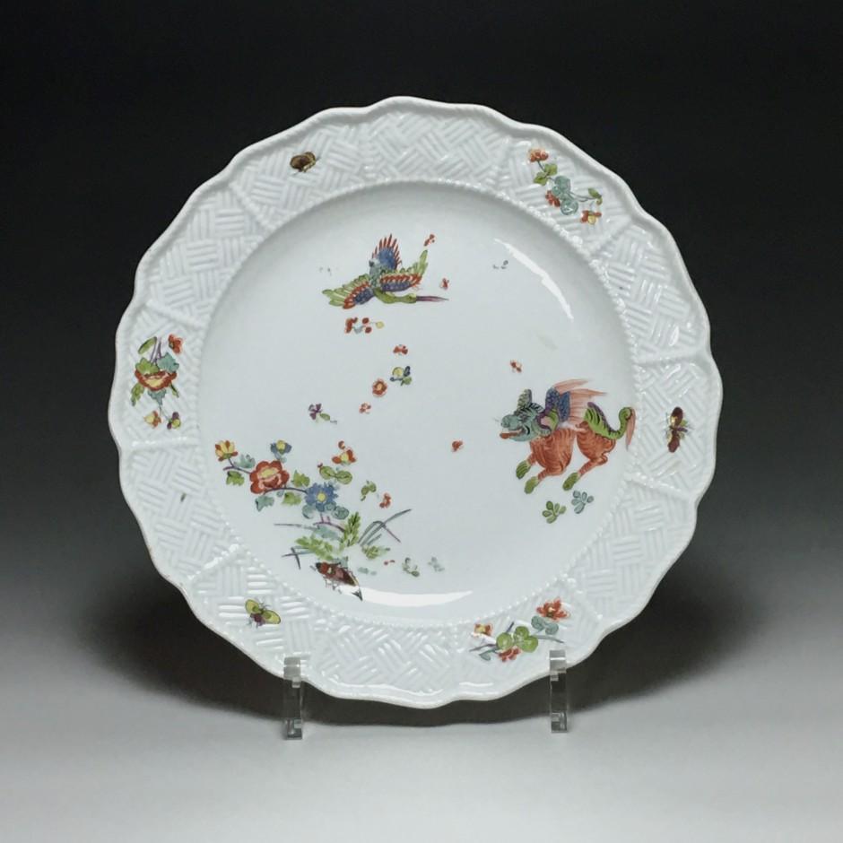 Meissen - Plate with Kakiemon decoration - eighteenth century