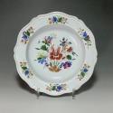 Doccia – Assiette à décor floral – XVIIIe siècle - VENDU