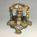 Large Salt cellar - Naples area - Eighteenth century