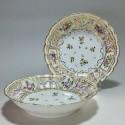 Bordeaux - Paire de Jattes en porcelaine - Manufacture des terres de Bordes - XVIIIe siècle - VENDU