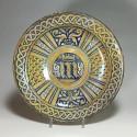 Plat en Majolique de Deruta à lustre métallique – vers 1530 - VENDU