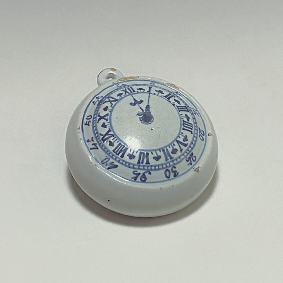 Lille – Montre à gousset en trompe l'oeil – XVIIIe siècle