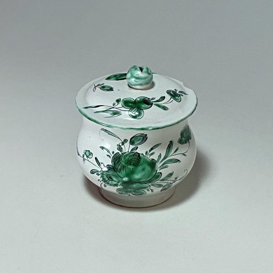 Moustiers ou Varages - Pot à crème ou pot à jus - XVIIIe siècle