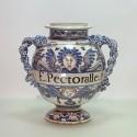 Montpellier – Fabrique Olliver - Grand vase de pharmacie - Vers 1700 - VENDU