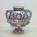 Montpellier - Olliver Factory - Large pharmacy vase - Around 1700 - SOLD