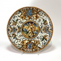 Pedestal cup in Urbino majolica - Patanazzi workshop - Dated 1638 - SOLD