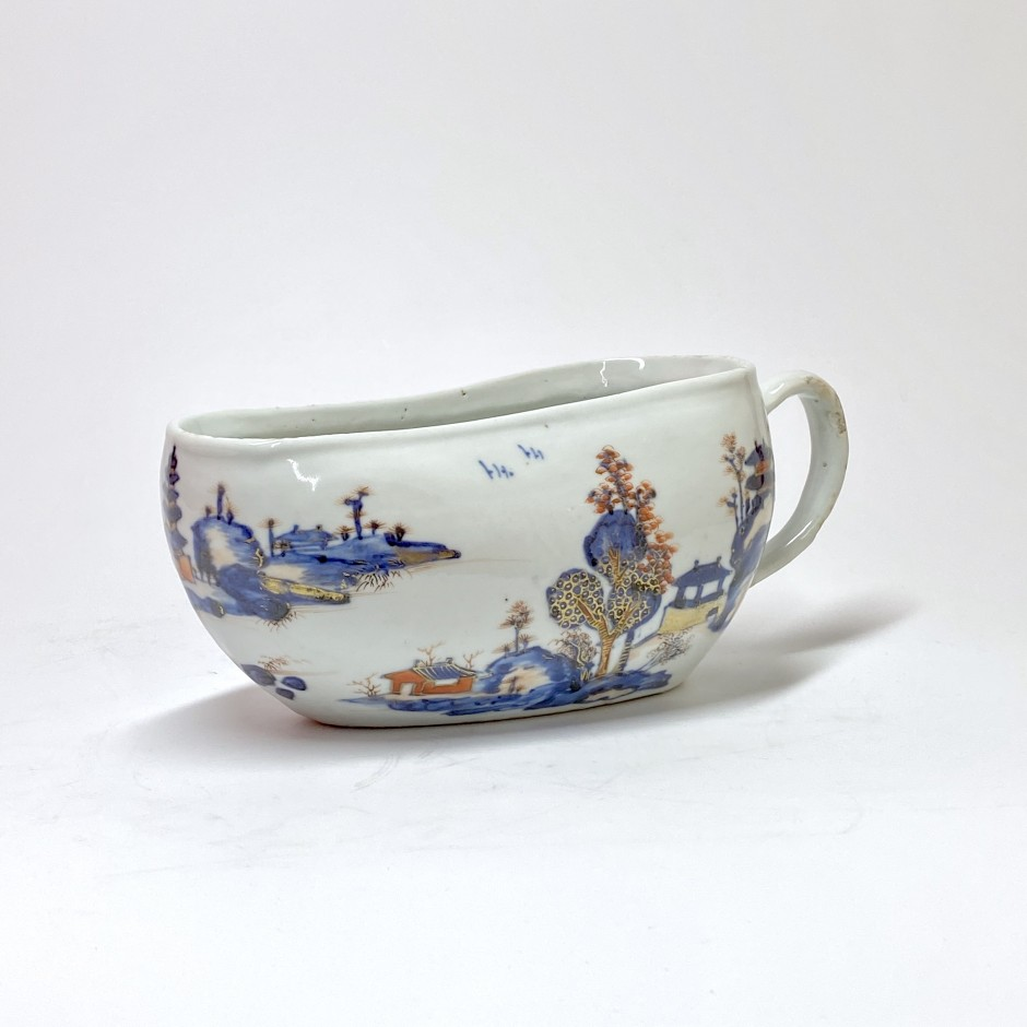 China - Compagnie des Indes - Bourdalou with Imari decoration - Eighteenth century - SOLD