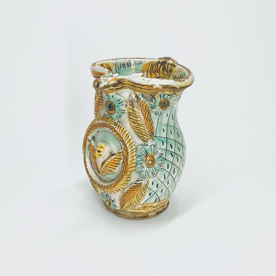 Ariano Irpino (Italy) - Deceptive pot - Eighteenth century