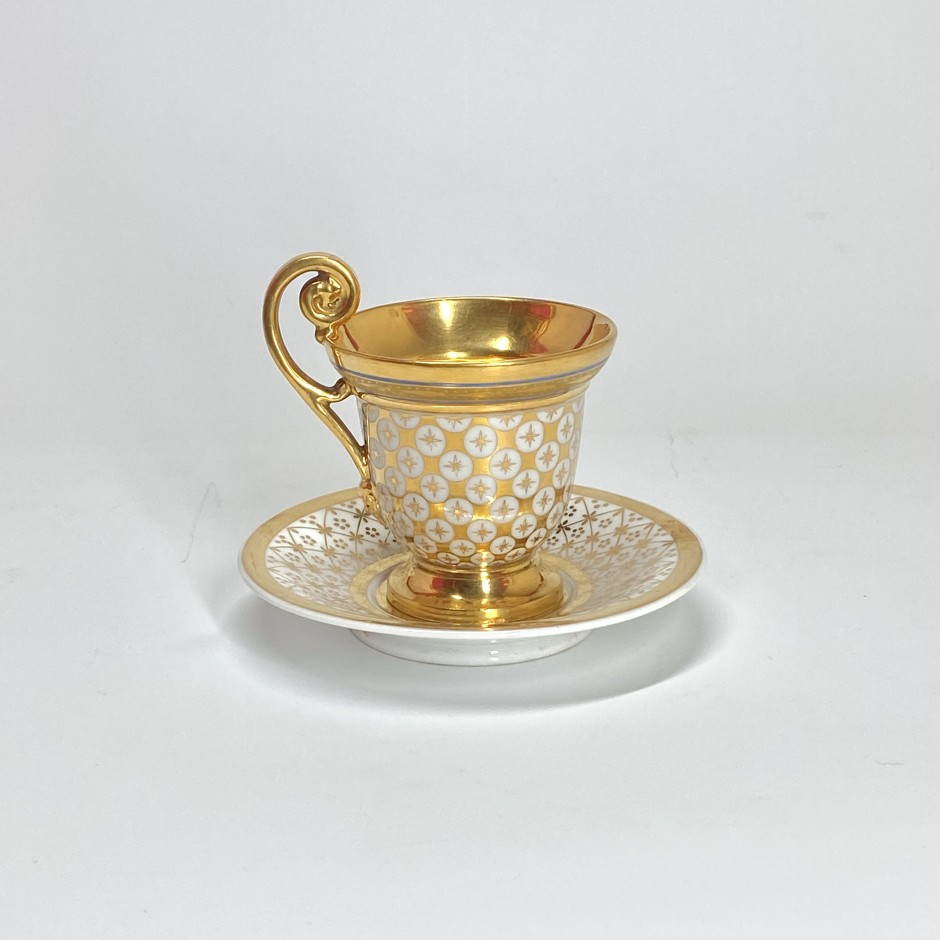 Paris - Cup on pedestal - Early nineteenth century - SOLD