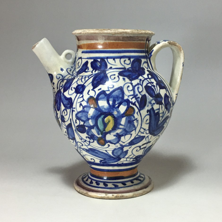 Majolica Chevrette from Lyon - Second half of the 16th century