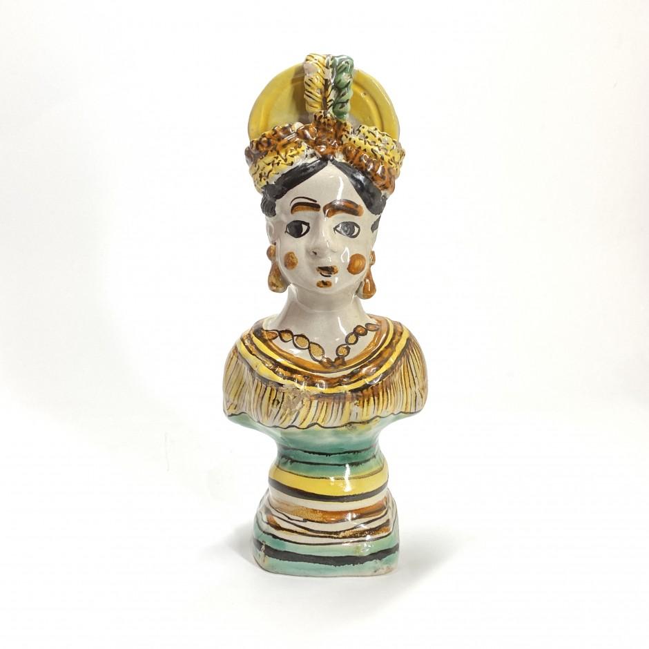 Ariano Irpino (Italie) - Pichet figurant un buste de femme - Fin du XVIIIe siècle