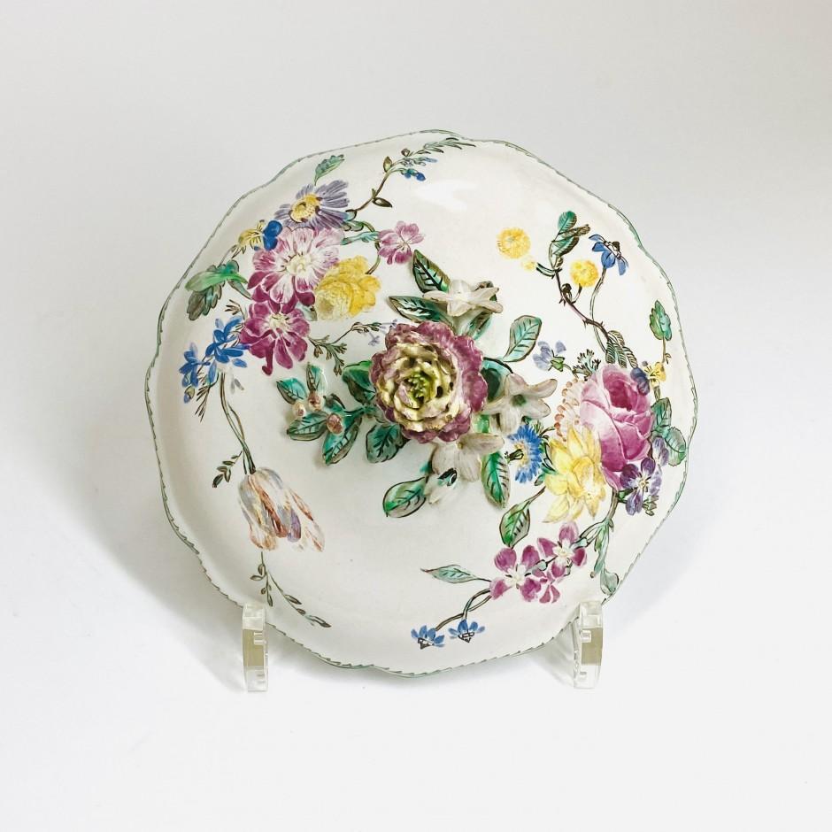 Marseille earthenware cover - Veuve Perrin - Eighteenth century