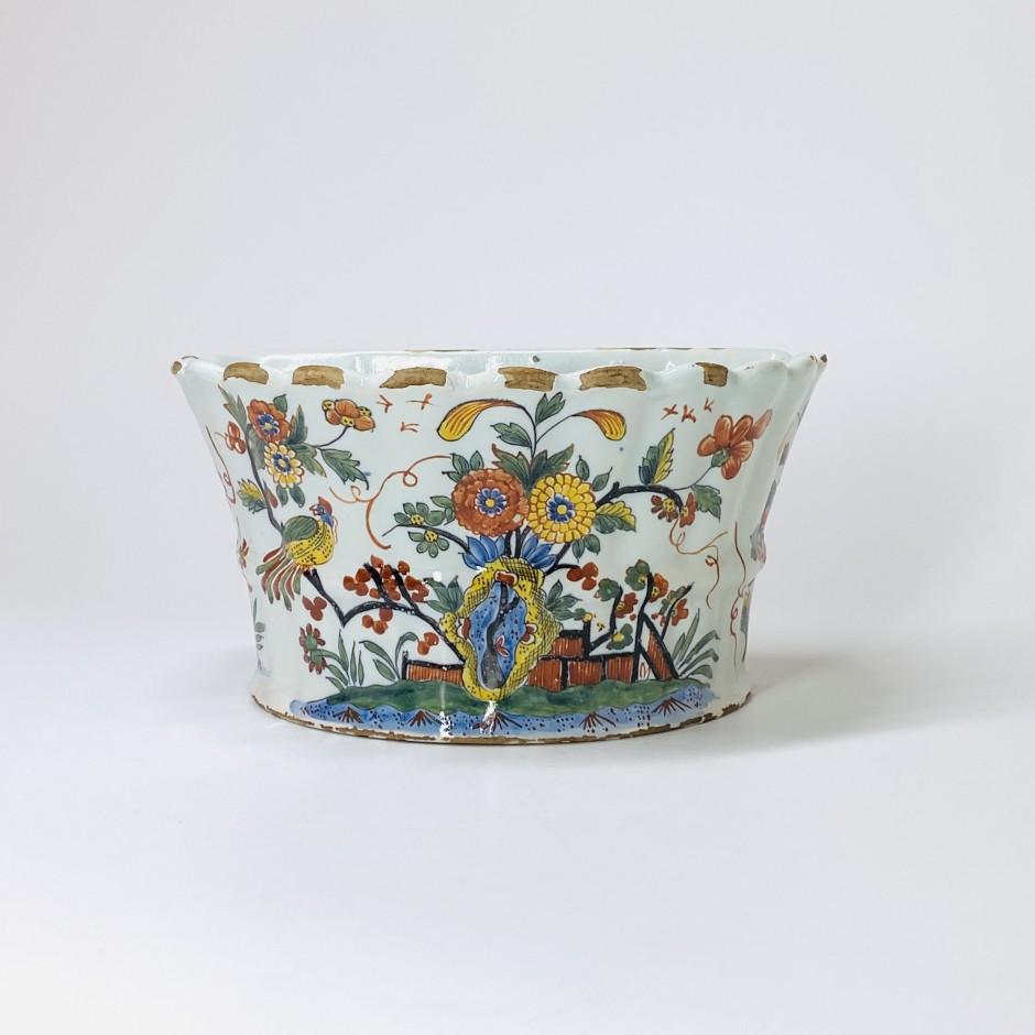 Rouen - Bouquetière d'applique - XVIIIe siècle