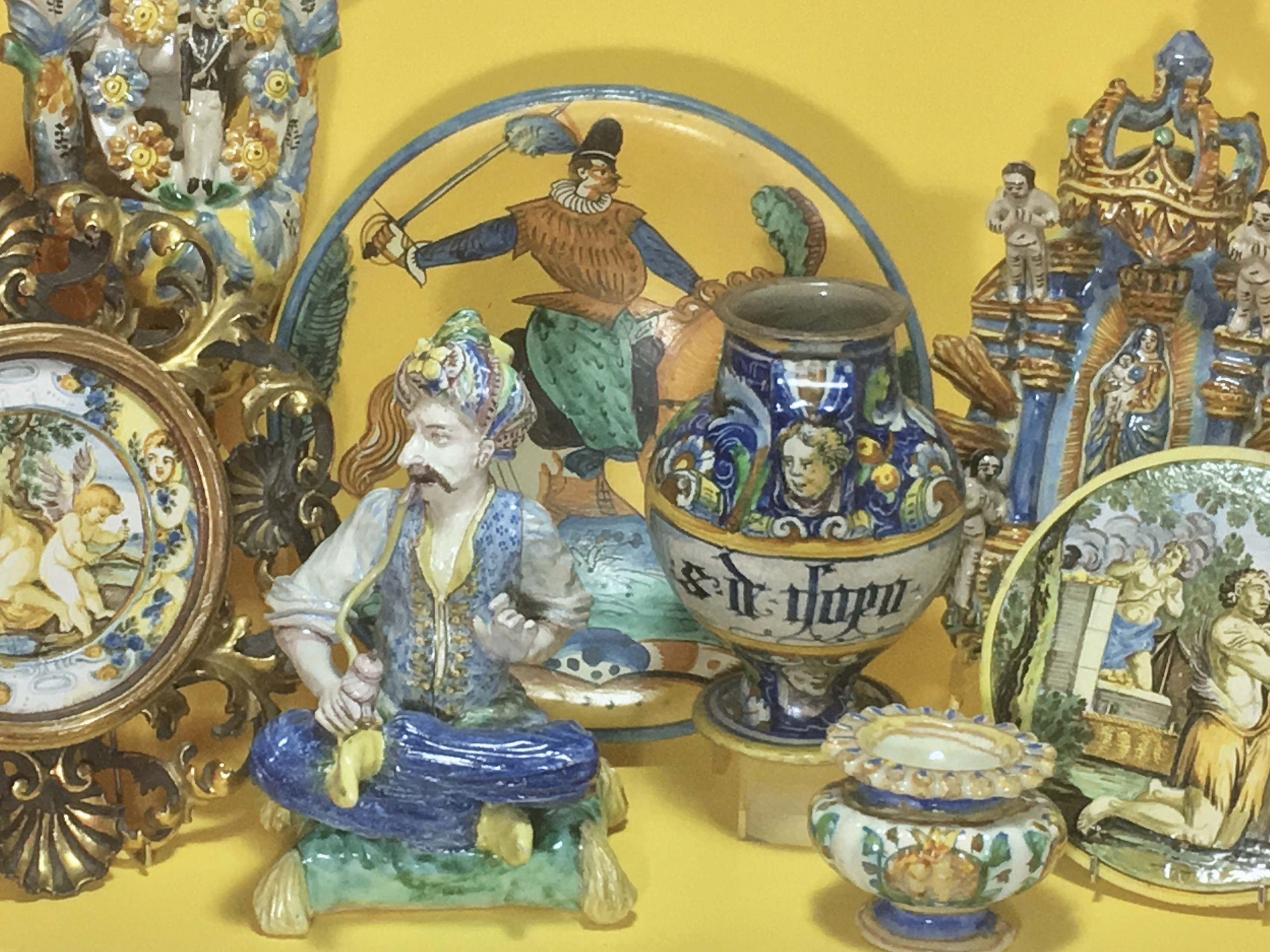 Italian ceramics from the 16th to the 19th century