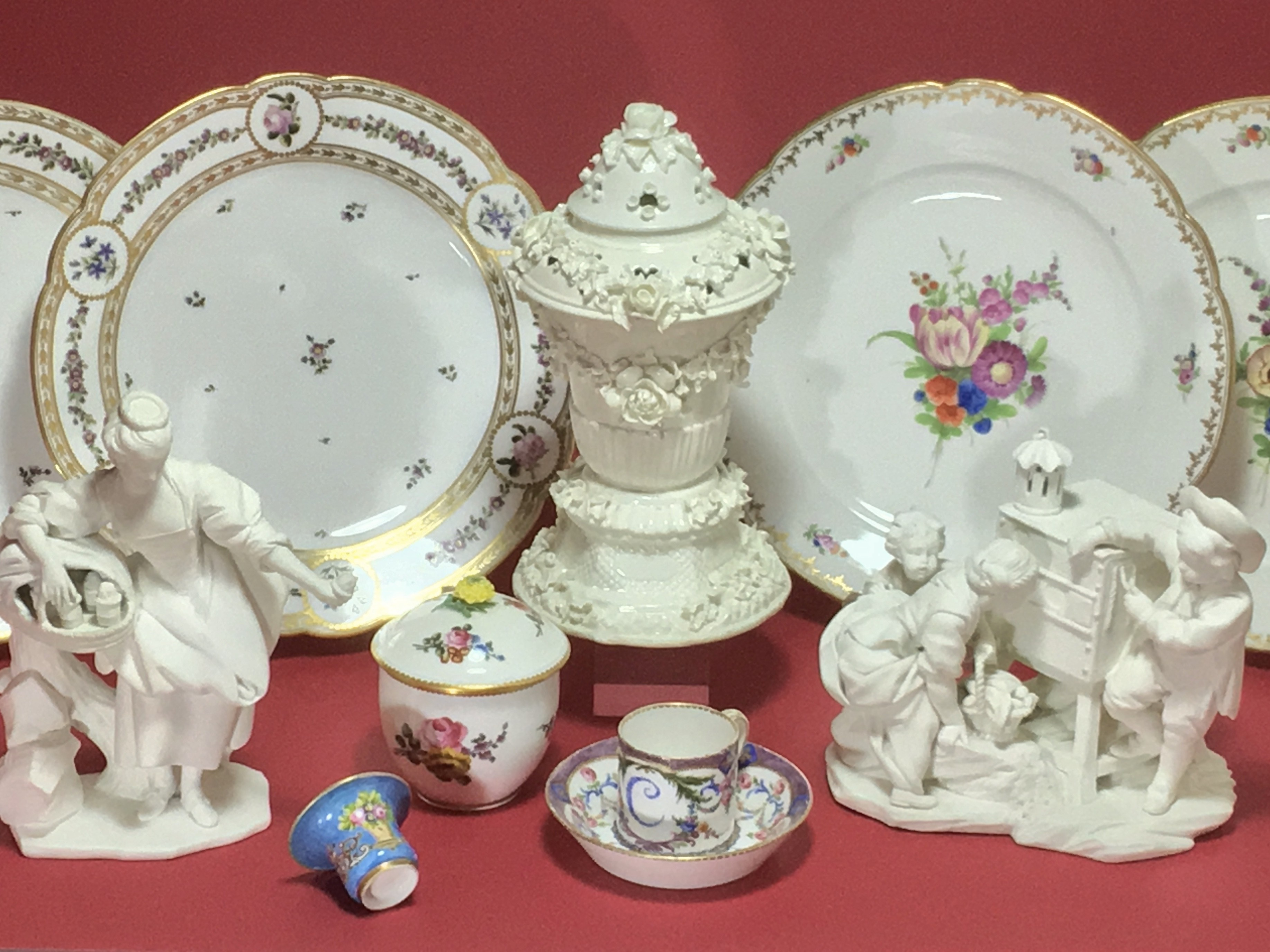 FRENCH PORCELAIN OF THE EIGHTEENTH CENTURY
